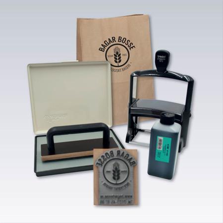 Stämplar för påsar - emballage