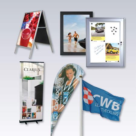 Flaggor och displayprodukter