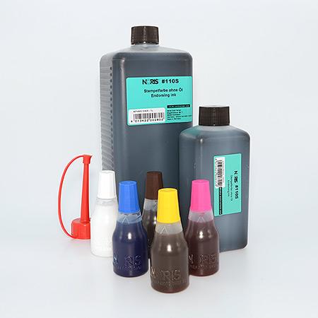 Vanlig stämpelfärg i specialkulörer - Vattenbaserad