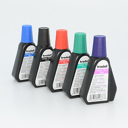 Standardfärg till Trodat dynor och dynkassetter
